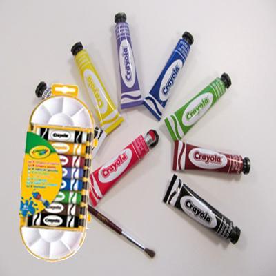 Crayola peinture gouache lavable for Peinture lavable